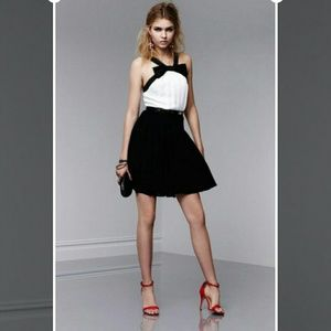 Prabal Gurung for Target black/white tuxedo dress